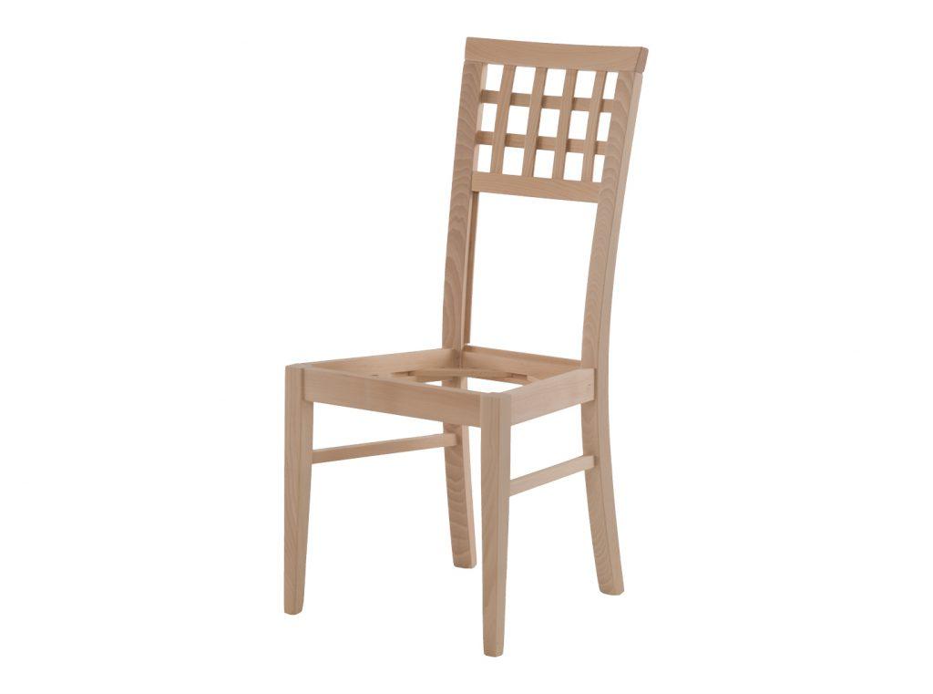 Krzesło z litego drewna 30 082 K 00